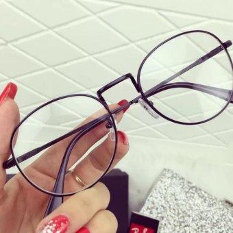 Mắt kính ngố gọng cận Nobita thời trang nam nử dễ thương (đen)