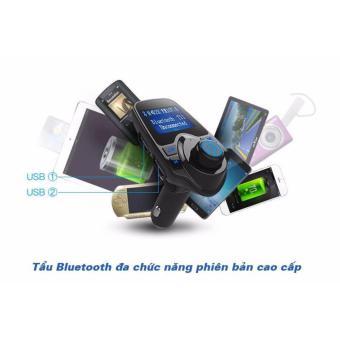 Tẩu nghe nhạc và điện thoại trên xe hơi Car Mp3 Player T11