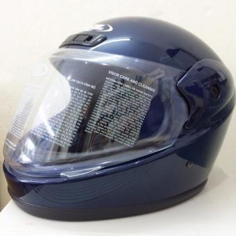 Mũ bảo hiểm HSL M2 (Xanh đậm bóng)