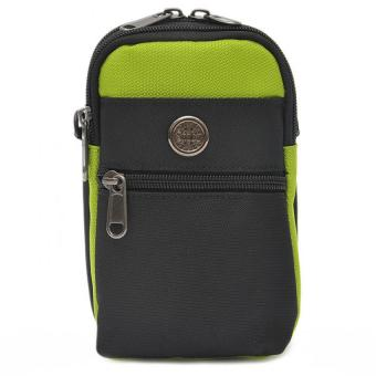Túi đeo hông có móc khóa + Tặng dây Đeo chéo đa năng H142 (Xanh lá)