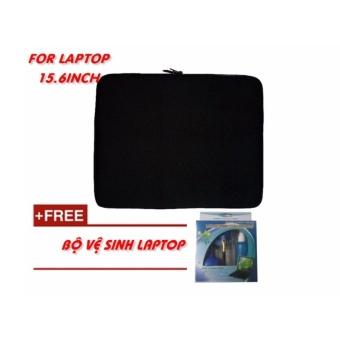 Túi chống sốc Laptop 15.6 Inch + KM bộ vệ sinh Laptop 4 món