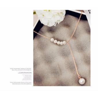 Dây chuyền nữ hạt ngọc trai thời trang xinh xắn Hàn Quốc SPN-DZ135
