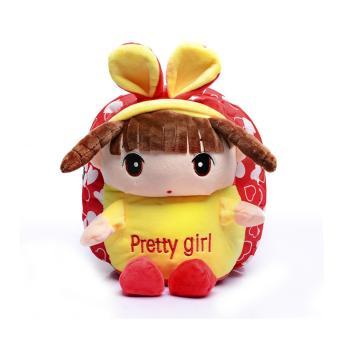 Balo búp bê đáng yêu cho bé gái (Đỏ đào tim baby)