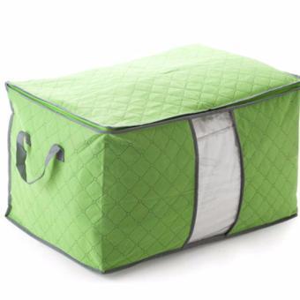 Bộ 2 Túi vải đựng chăn màn quần áo chống ẩm mốc