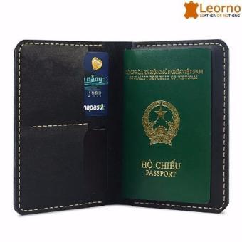 Ví da passport handmade VD38