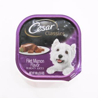 Pate bổ sung dưỡng chất cho chó vị thịt thăn Cesar filet mignon flavor