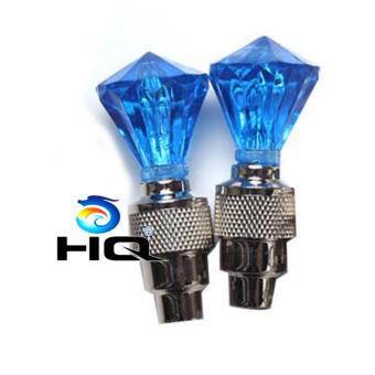Bộ 2 Đèn Led Gắn Van Xe HQ 3TI09-12(xanh lam)