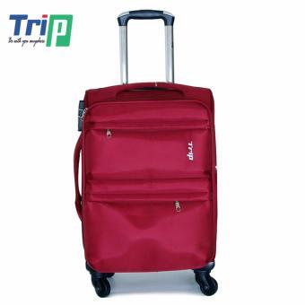 Vali Vải TRIP P033 Size S - 20inch (Đỏ Đô)