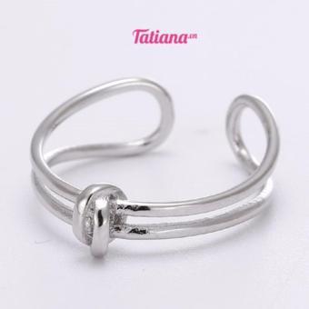 Nhẫn Bạc Tiny Knot N2226 (Bạc)
