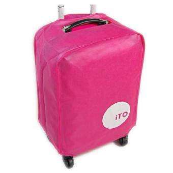 Túi bọc vali chống nước size 28 (Hồng)
