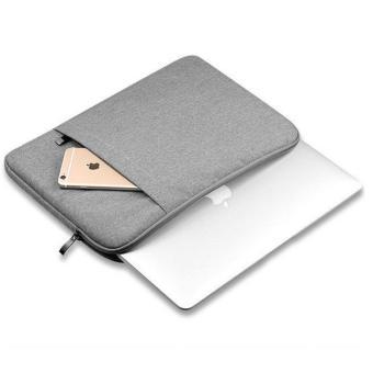 Túi chống sốc Macbook cao cấp 13 inch (Ghi xám)