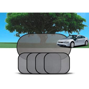 Bộ 5 tấm màn che nắng phim cách nhiệt cho ôtô M50 (Đen)
