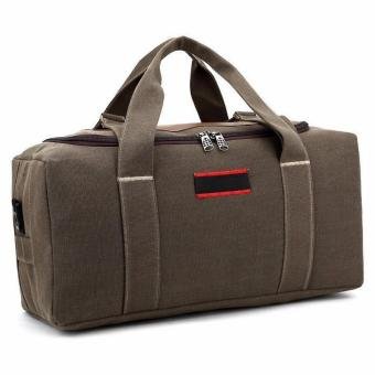Túi xách du lịch tiện dụng QSTORE QS40 (Nâu Rêu)