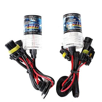 2PCS 55W XENON HID Replacement Light Bulbs H1 30000k 2600LM+-200 - intl