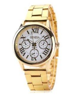 Đồng hồ nam dây hợp kim Geneva GE008-1 (Vàng)