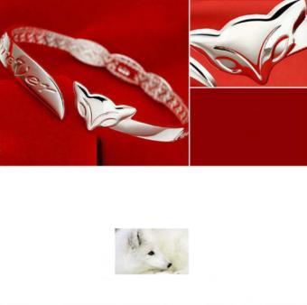 Vòng tay nữ bạc cao cấp 925 | Vòng tay bạc hồ ly thời trang