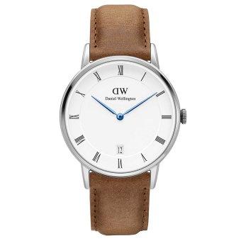 Đồng hồ nam dây da Daniel Wellington DW00100114 (Nâu)