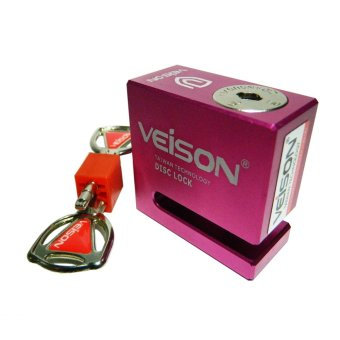 Khóa đĩa xe máy VEISON DX4 (Hồng)