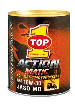 Nhớt Top 1 Action Matic 10W30 0.8L cho xe ga và xe máy hộp số tự động