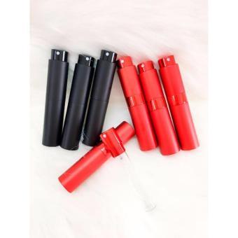 Bộ 5 lọ chiết nước hoa 1 cam 1 đen 1 đỏ 10ml 2 đen vuông 20ml