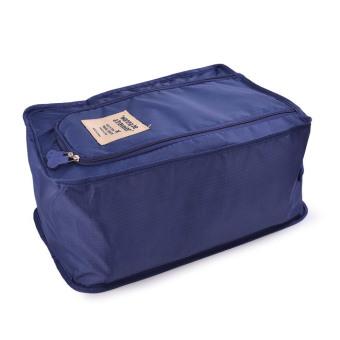 Túi Dựng Giày Thể Thao Size Lớn US2016 (Xanh Đậm)