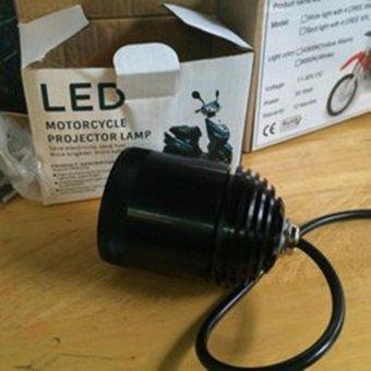 Đèn trợ sáng xe máy LED L4 loại dùng chip Cree XPL HI V3 độ sáng 3500Lm chiếu xa 300m