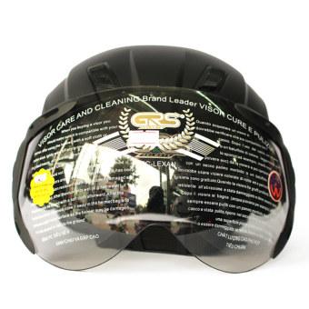 Mũ bảo hiểm 1 kính GRS 737 (Đen)