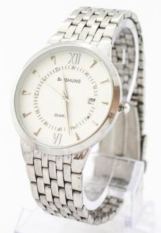 Đồng hồ nam dây thép không gỉ Baishuns SLBS1479