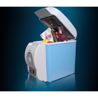 Tủ lạnh mini trên oto, xe hơi loại 7.5l