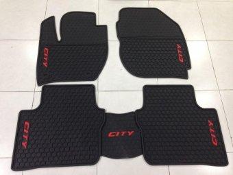 Thảm lót sàn dành cho xe ôtô Honda City (Đen)