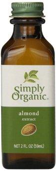 Dầu chiết xuất từ hạnh nhân Simply Organic Almond Extract 59 ml