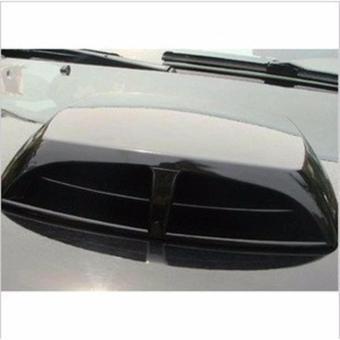 Hốc gió vuông độ nắp capo xe hơi (màu đen)