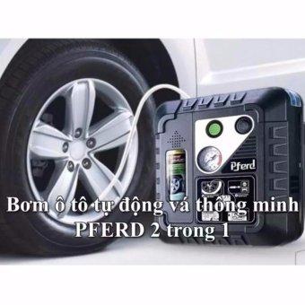 Bơm ô tô tự vá lốp xe thông minh Pferd nguồn điện 12V