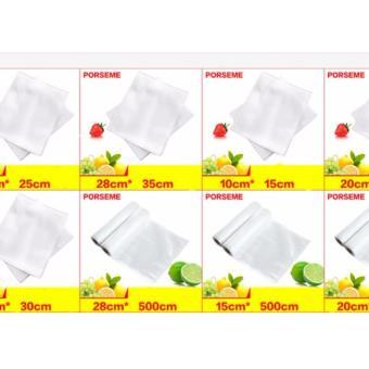 Bộ 100 túi bóng hút chân không bảo quản thực phẩm loại tốt (Size 10x15cm)