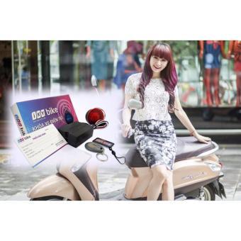 Khóa chống trộm xe máy cảm ứng từ Iky Bike (Đen đỏ)