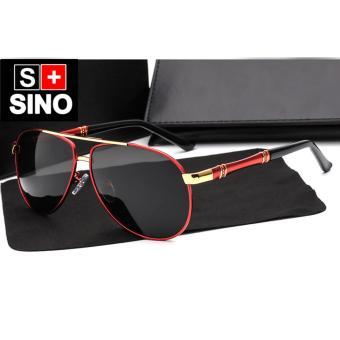 Kính mát nam Sino S8000R (đỏ)