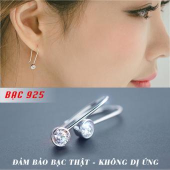 Bông tai S925 Hậu Duệ Mặt Trời thời trang Hàn Quốc SE-E1239