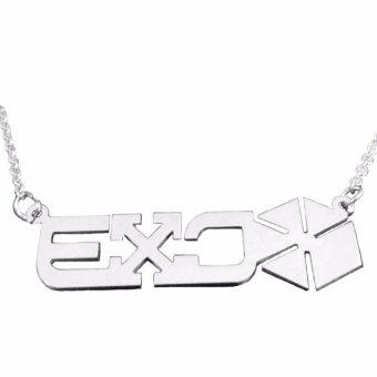 Dây chuyền Exo inox ( Trắng )