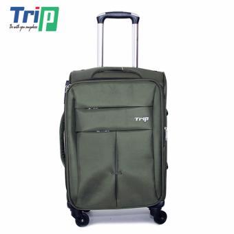 Vali Vải TRIP P030 Size S - 20inch (Xanh rêu)