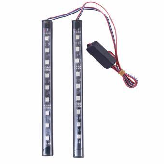 Bộ 2 led thanh HDC-045 12v 18cm chớp nhiều màu