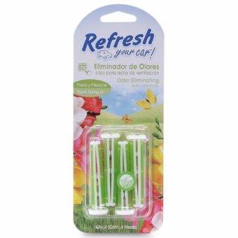 Kẹp thơm khử mùi xe ô tô Refresh Your Car - Hương hoa cỏ mùa xuân 09547