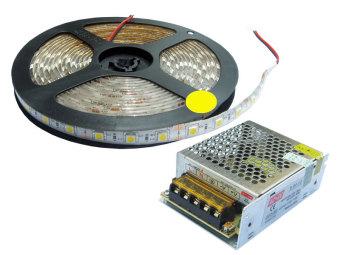 Bộ đèn LED dây dán VAKS V-LD-WW (Trắng ấm)