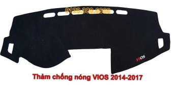 Thảm chống nắng Taplo ô tô Toyota Vios đời 2014-2017