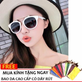 Kính Mát Unisex + Tặng Bao Da Bt99.117