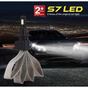 Bộ 2 bóng đèn led trước cho xe hơi ô tô MODEL H4 Headlight (Cao cấp sợi nhôm chịu nhiệt, chống nước)