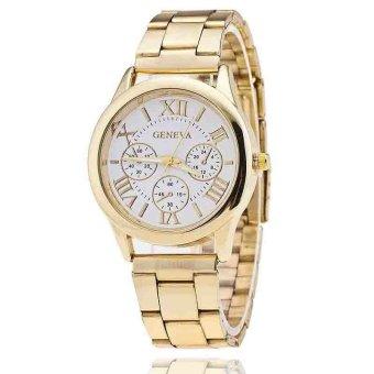 Đồng hồ nam dây hợp kim Geneva GE008-11 (Vàng)