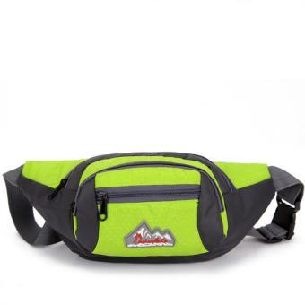 Túi đeo bụng, đeo hông du lịch Beierfute H04 (Xanh lá).