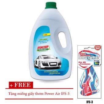 Nước rửa kính ô tô Screen Wash 1,9L + tặng kèm miếng giấy thơm Power Air Active Sport IFS-3