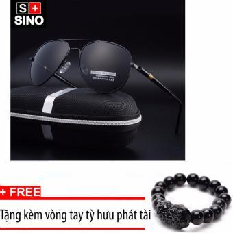 Kính mát nam thời trang cao cấp Sino SN688+ Tặng kèm vòng tay phong thủy