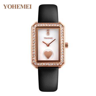 Đồng hồ nữ dây da đính đá YOHEMEI CH381 - L1A